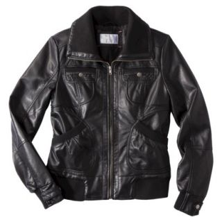 Xhilaration® Juniors Faux Leather Jacket  A