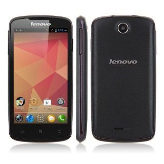 AXCELLE 4.5 Inch lenovo A630 Phone MTK6577 Dual Core, Android 4.0 512MB RAM 4GB ROM Dual SIM Card Support Multiple language(Black) Cell Phones & Accessories