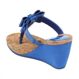 "BCBGeneration ""Michelle"" Bow Wedge Sandal"