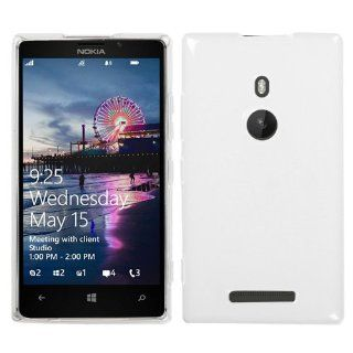 NK 925 (Lumia 925) Semi Transparent White Candy Skin Cover (Rubberized) Cell Phones & Accessories