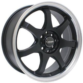 Kyowa Racing Series 627 Matte Black   18 x 7.5 Inch Wheel Automotive