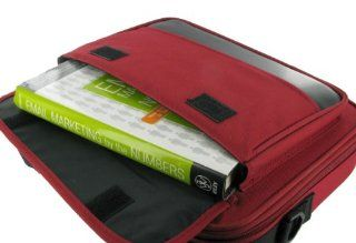 ASUS UL20A A1 12.1 Inch Netbook Carrying Bag Case (Classic Series   Red / Black) Computers & Accessories