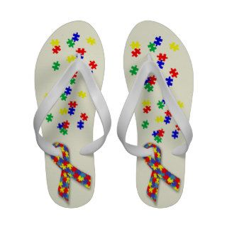 Autism Awareness  Sandalei Women's Sandals