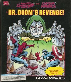 The Amazing Spider Man and Captain America in Dr. Doom's Revenge Video Games