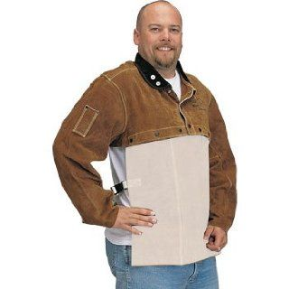 Revco Black Stallion 21CS Premium Side Split Cowhide Welding Cape Sleeve, X Large   Protective Work And Lab Clothing