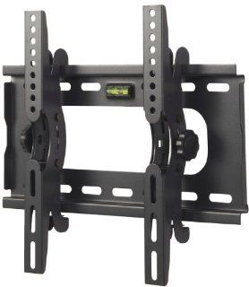 "VonHaus by Designer Habitat PREMIUM LCD, LED & Plasma Slim TV Wall Tilt Bracket Black Fits All Models   Samsung LG Sony Philips Toshiba   (23   37""), Load Capacity 45Kg, 15 Degree Up/Down Tilt Mechanism, Free Spirit Level Electronics"