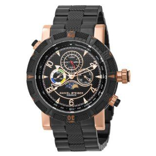 Daniel Steiger Men's 7058 M Swiss Quartz  Multi Function Rose Gold Watch Watches