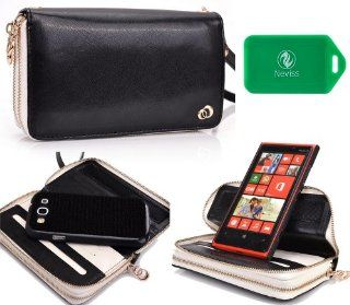 Nokia Lumia 920 Runway series wristlet wallet in Black PLUS bonus NEVISS luggage tag Computers & Accessories