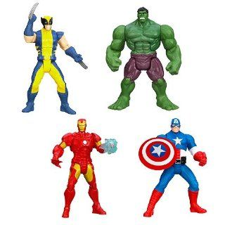 Avengers Assemble Mighty Battlers Action Figures Wave 1 Toys & Games