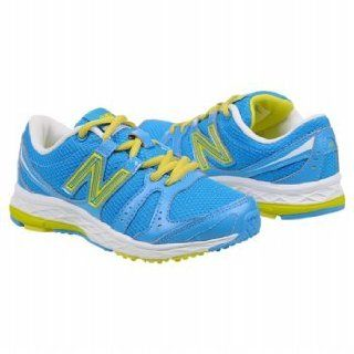 NEW BALANCE Kids' KJ 690 (Blue/Yellow 11.5 M) Footwear Shoes