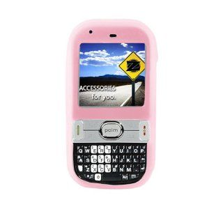 HOT Pink Silicon Skin Cover Case for Sprint/at&t Palm Centro 690   Flexible Soft Cell Phones & Accessories