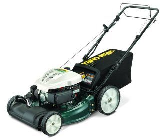 Yard Man 12AEB2JZ701 190cc Electric Start Briggs and Stratton 3 in 1 Gas Powered Push Lawn Mower, 21 Inch (Discontinued by Manufacturer)  Walk Behind Lawn Mowers  Patio, Lawn & Garden