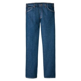 Dickies Mens Regular Fit 5 Pocket Jean   Indigo Blue 38x29