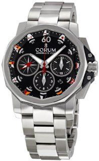 Corum Admirals Cup Challenge Blue Dial Chronograph Mens Watch 75369320V701AB92 Corum Watches