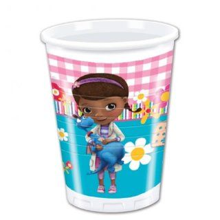Doc Mcstuffins 8 pk Party Disney Cups Plastic   Childrens Party Cups