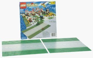 LEGO 6322 City Town Straight Road Plates Toys & Games