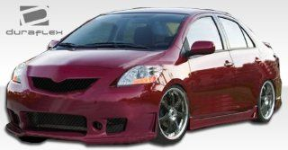 2007 2011 Toyota Yaris 4DR Duraflex B 2 Body Kit   4 Piece   Includes B 2 Front Bumper Cover (103392) B 2 Side Skirts Rocker Panels (103393) B 2 Rear Bumper Cover (103394) Automotive