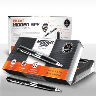 Hidden Spy Pen HD Camera & 720p Video Camera Recorder DVR   Record in 1280x720 HD Video Resolution   Free 8GB SD Card Included  Camera & Photo