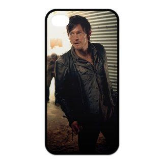 The Walking Dead Daryl Dixon iPhone 4/4s Case Well designed Hard Plastic iPhone 4/4s Cover Case Cell Phones & Accessories