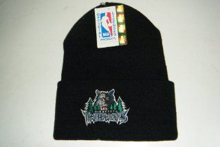 Minnesota Timberwolves NEW Authentic Beanie / toque knit hat Logo 7  Sports Fan Beanies  Sports & Outdoors