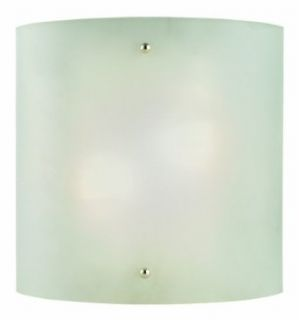 Design House 512905 Weston 2 Light Wall Sconce, 10 Inch by 10 Inch, Satin Nickel