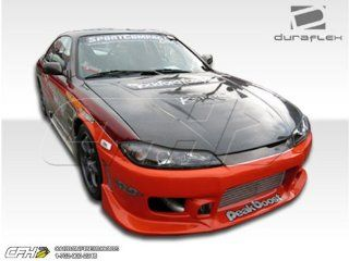 1995 1998 Nissan 240SX Silvia S15 Duraflex C 1 Conversion Kit   4 Piece   Includes C 1 Front Bumper Cover (102151) S15 OEM Fiberglass Hood (100889) S15 OEM Fenders (101643) Automotive
