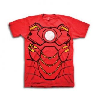Marvel Comics Iron Man or Captain America Headless Costume Tee Movie And Tv Fan T Shirts Clothing