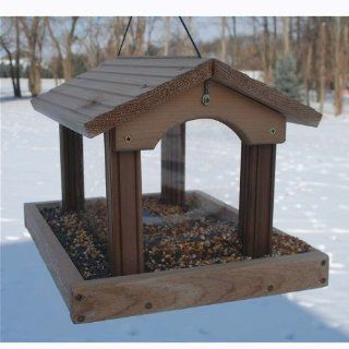 Woodlink PRO4  Premier Cedar Feeder  Wild Bird Hopper Feeders  Patio, Lawn & Garden