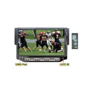 "Performance Teknique Icbm 755tv 7"" Digital Touch Screen Panel, One Din, In dash Dvd/cd Player, Am/fm/mpx Radio, USB Port/sd Card Slot / Tri Zone, Aux, Fully Motorized Detachable Front Panel7"" Digital Touch Screen Panel, One Din, In dash Dvd/cd Pl"