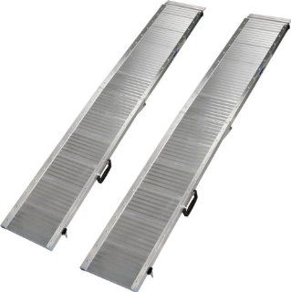 7' Portable Folding Aluminum Track Mobility Ramps Rage Powersports Health & Personal Care
