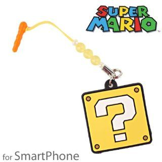 Super Mario Bros. Screen Cleaning Earphone Jack Accessory (Question Mark) Cell Phones & Accessories