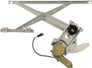 Dorman 741 753 Dodge Ram Front Driver Side Window Regulator with Motor Automotive