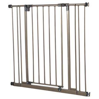 North States Extra Tall Easy close Bronze Metal Gate