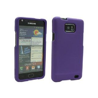 Purple Hard Snap On Cover Case for Samsung Galaxy S2 S II AT&T i777 SGH i777 Attain i9100 Cell Phones & Accessories