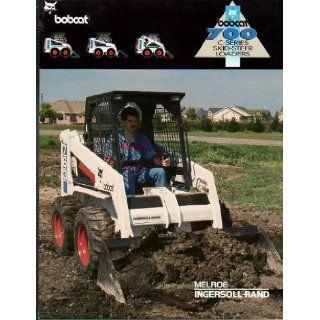 Maintenance Operation & Manual (Skid steer Loaders, 763 C series) Bobcat Books