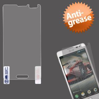 MyBat LG US780 Optimus F7 Anti Grease LCD Screen Protector   Retail Packaging   Clear Cell Phones & Accessories