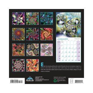Fractal Universe 2010 Wall Calendar Inc.   Avalanche Lang Holdings 9781604346190 Books