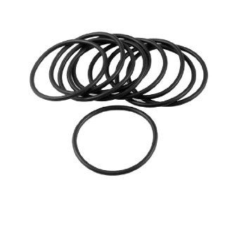 10 Pcs 46mm x 2mm Black Sealing Oil Filter O Rings Gaskets