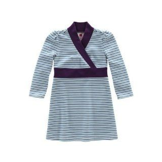 Tea Collection Daily Tea Striped Long Sleeve Banded Dress, 2T Baby