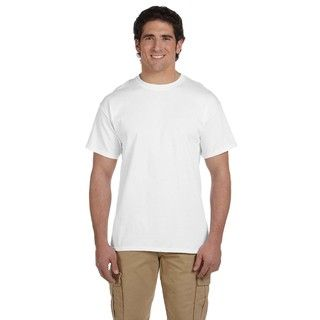 Gildan Mens Ultra Cotton Tall Short Sleeve Undershirts (pack Of 6)