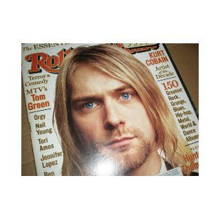 Rolling Stone Magazine May 13, 1999 Issue 812 Kurt Cobain Cover Books