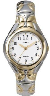 Timex Women's T2M813 Classic Two Tone Expansion Band Stainless Steel Bracelet Watch Watches