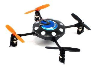 ULTIMATE FLYING OBJECT Electric Full Function 2.4GHz 4CH GYRO U816 UFO RTF RC Flying Saucer Toys & Games