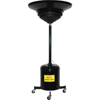 John Dow Portable Oil Drain — 5 Gallons, Model# JDI-5DCK  Up Right