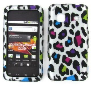 TRENDE   Samsung Galaxy Precedent case Color Leopard Design Rubberized Hard Snap on Cover + Free TRENDE Gift Box (Models SCH M828C, M828C, STSAM828CPWP) Cell Phones & Accessories