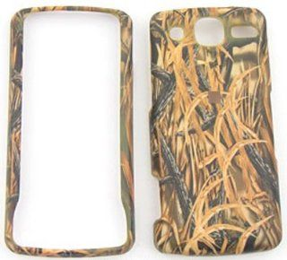 LG eXpo GW820 Camo / Camouflage Hunter Series, w/ Shedder Grass Hard Case/Cover/Faceplate/Snap On/Housing/Protector Cell Phones & Accessories