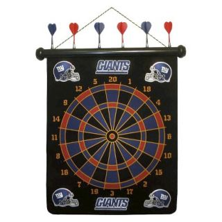 Rico NFL New York Giants Magnetic Dart Board Set