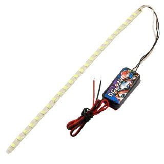 Auto Car DC 12V 48 LED PVC Coated White Flash Light Strip Automotive