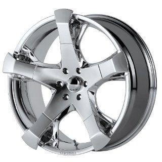 "Greed 831 Hang Tyme Chrome Wheel   (24x9.5"" / 6x135mm +24) Automotive"