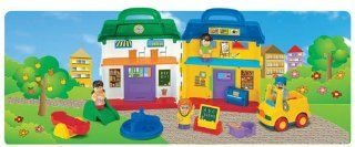 Megcos Carry Along School House Set  Affordable Gift for your Little One Item #LMID 1236 Toys & Games